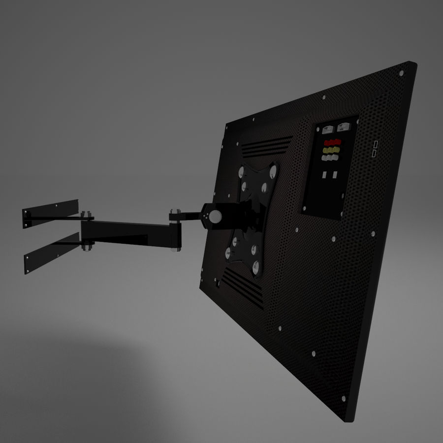 Led Tv royalty-free 3d model - Preview no. 20