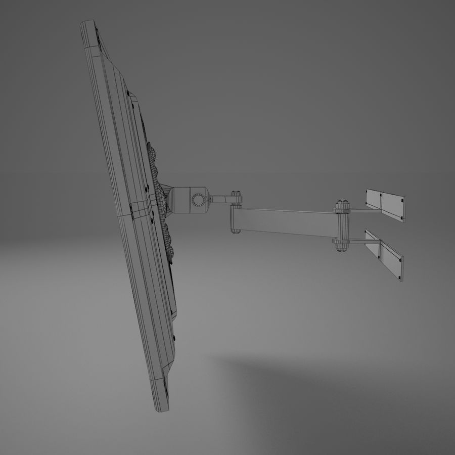 Led Tv royalty-free 3d model - Preview no. 23