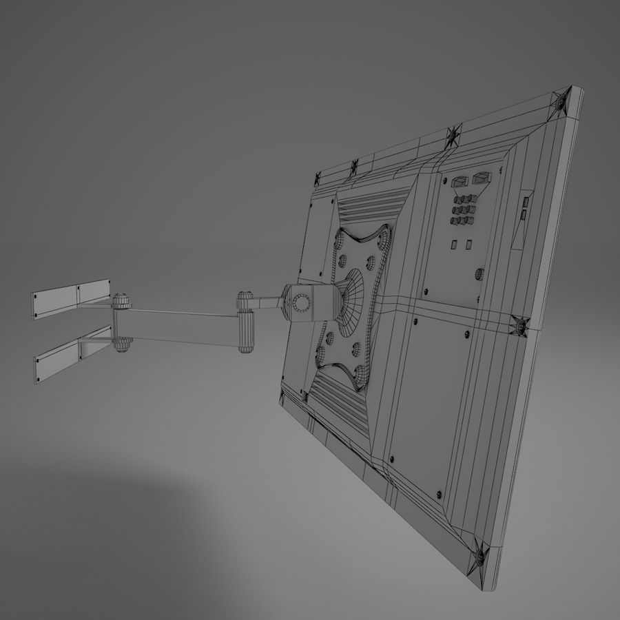 Led Tv royalty-free 3d model - Preview no. 21