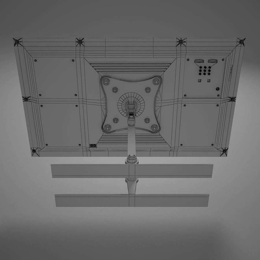 Led Tv royalty-free 3d model - Preview no. 19