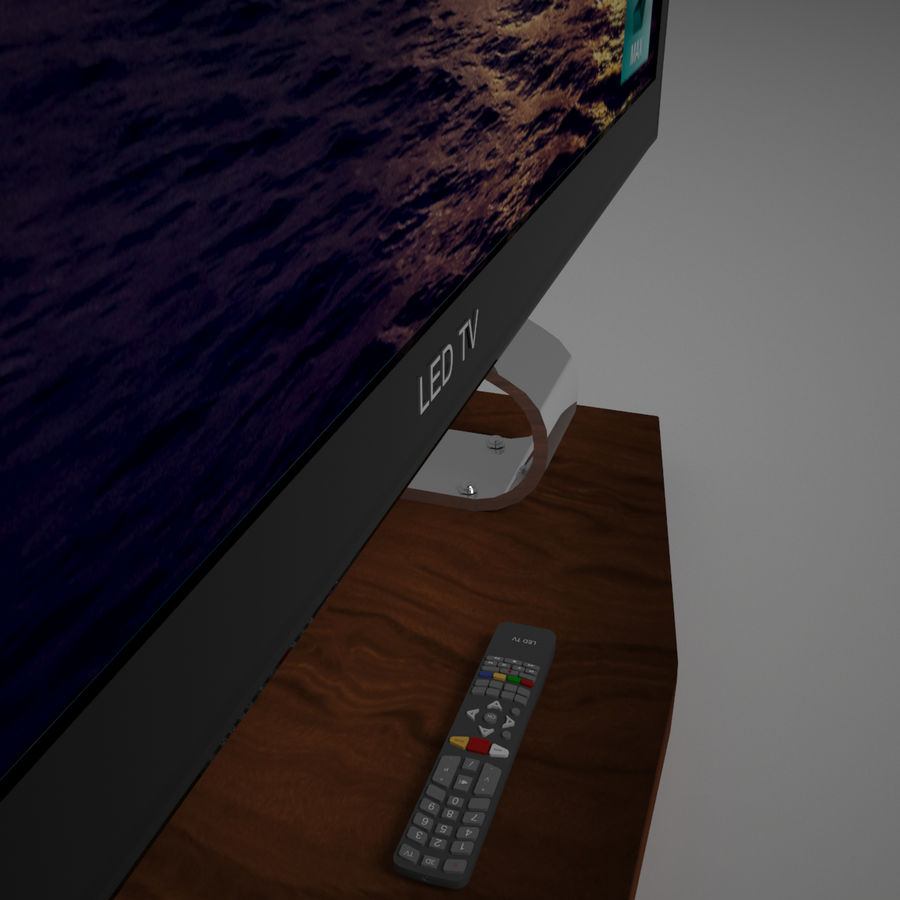 Led Tv royalty-free 3d model - Preview no. 12