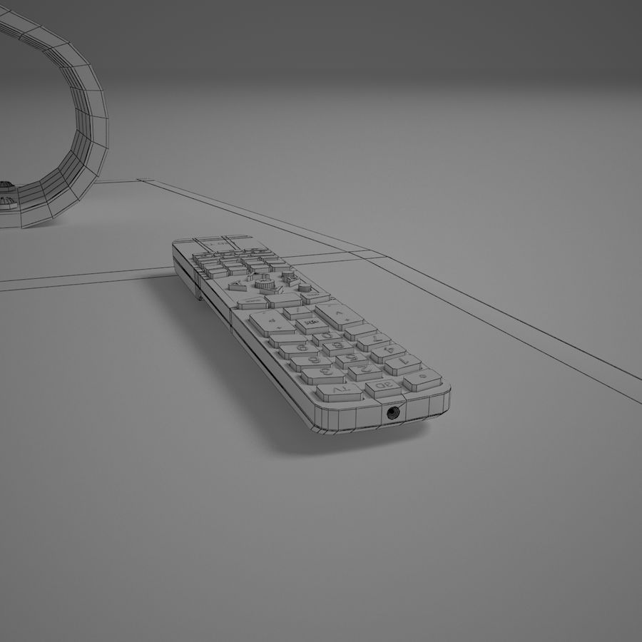 Led Tv royalty-free 3d model - Preview no. 11