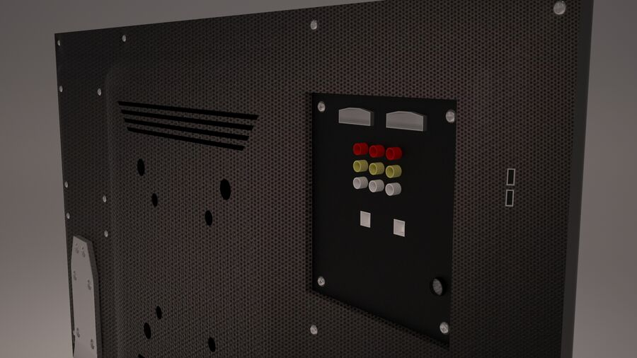 Led Tv royalty-free 3d model - Preview no. 10