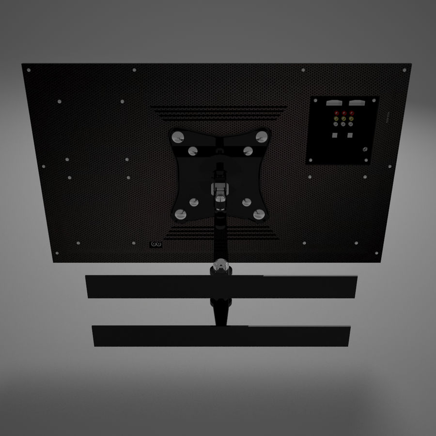 Led Tv royalty-free 3d model - Preview no. 18