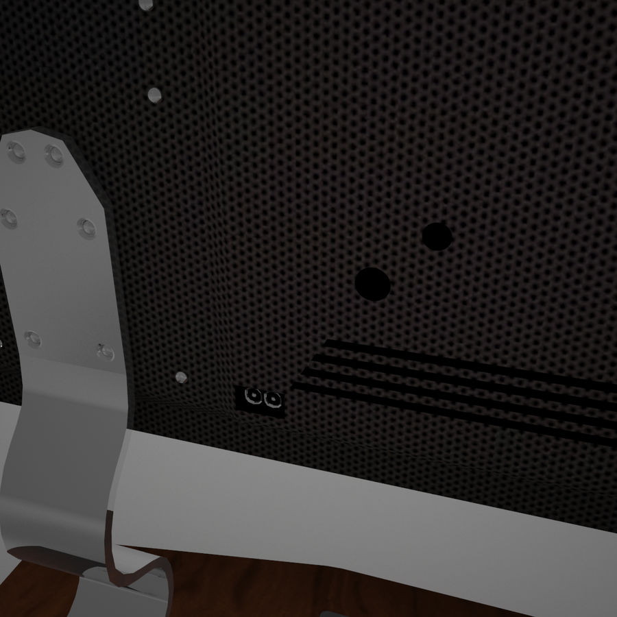 Led Tv royalty-free 3d model - Preview no. 16