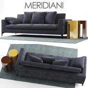 沙发Meridiani LOUIS UP 3d model