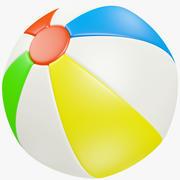Bola de praia 3d model