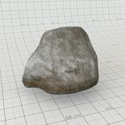 海滩岩 3d model