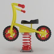 スイングスプリングバイク 3d model