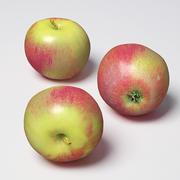 jabłko 3d model