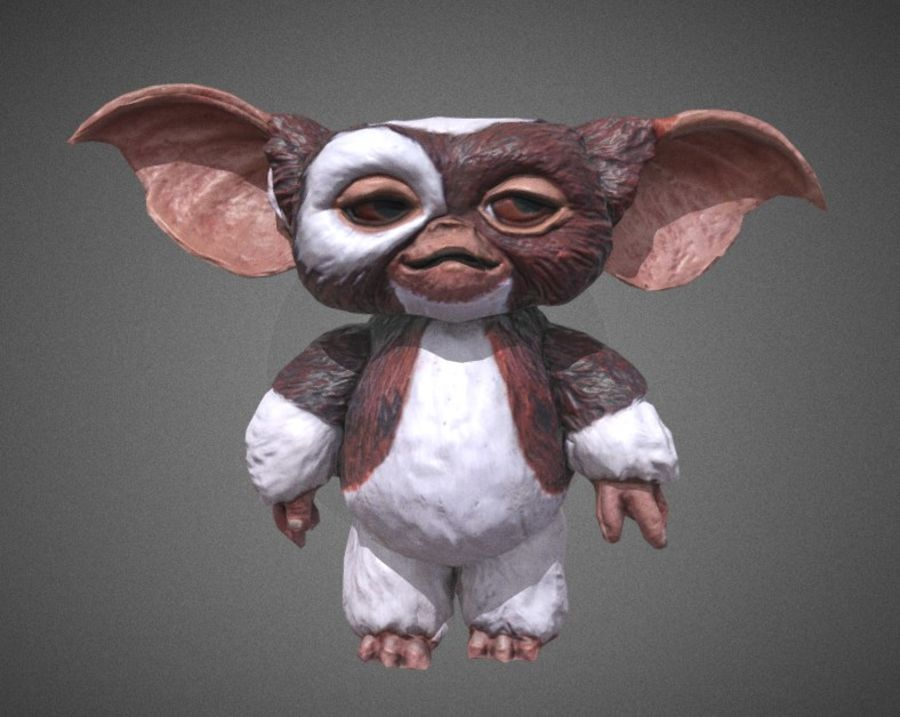 GREMLINS GIZMO royalty-free 3d model - Preview no. 2
