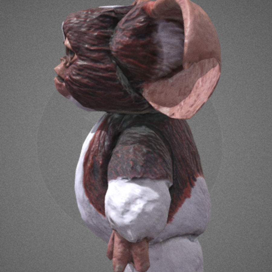 GREMLINS GIZMO royalty-free 3d model - Preview no. 3
