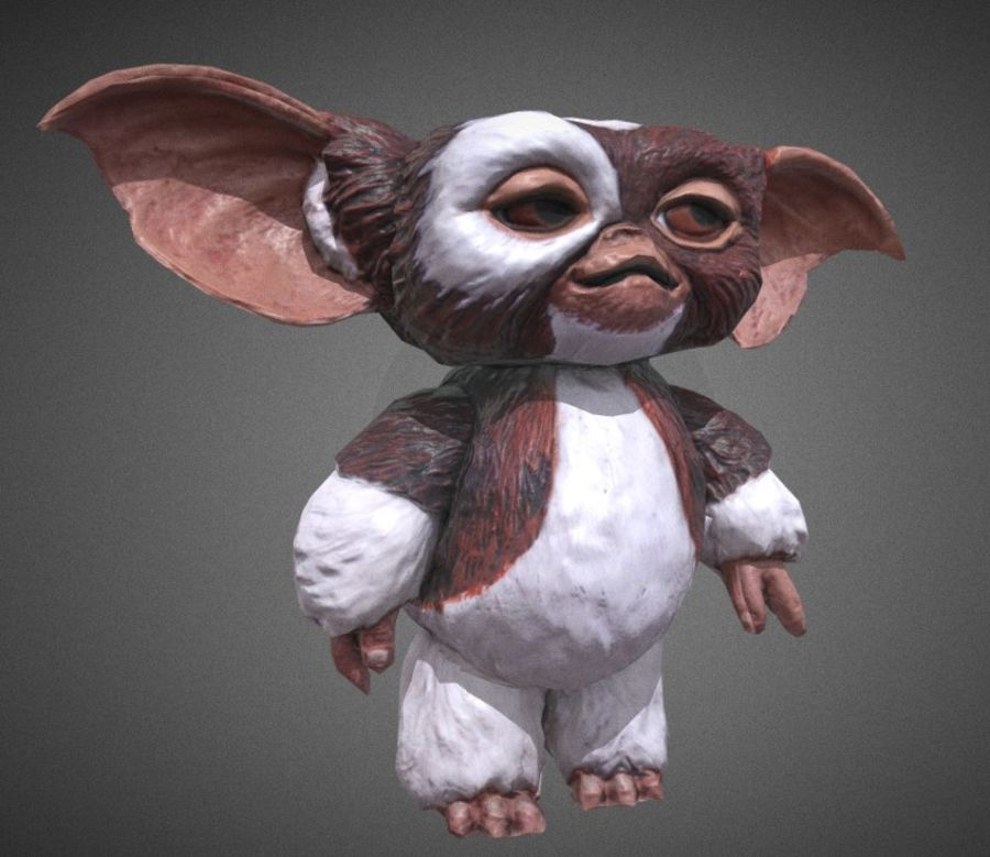 GREMLINS GIZMO royalty-free 3d model - Preview no. 1