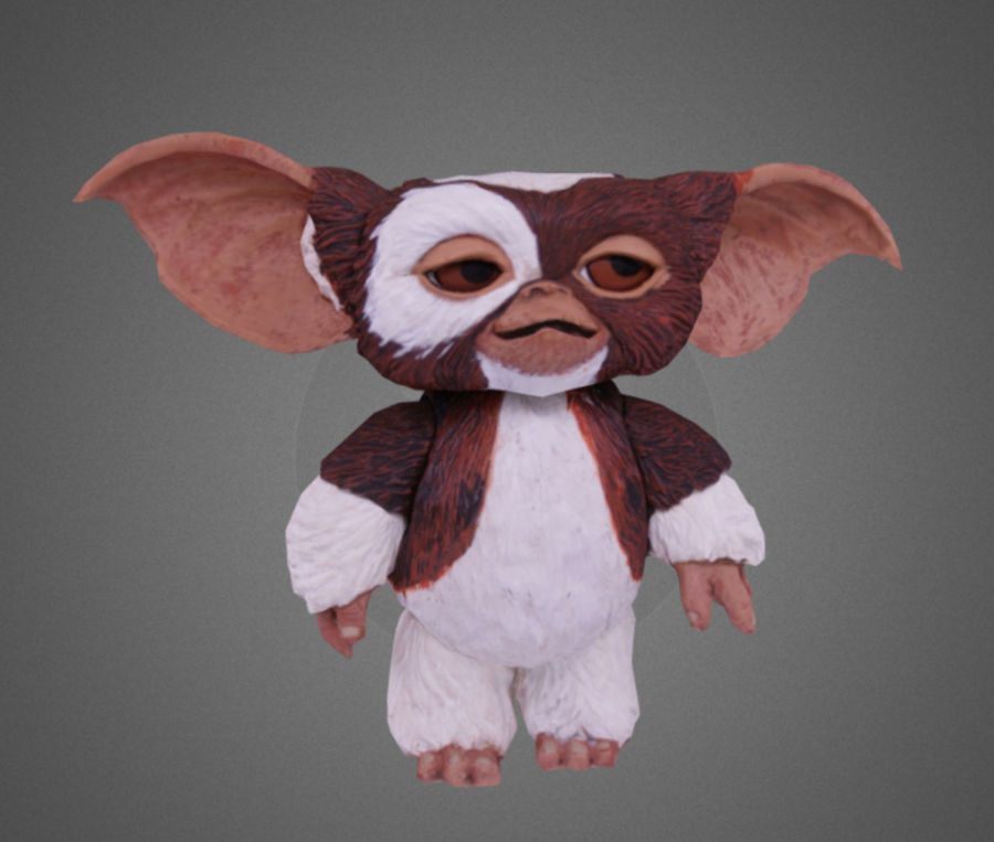 GREMLINS GIZMO royalty-free 3d model - Preview no. 5