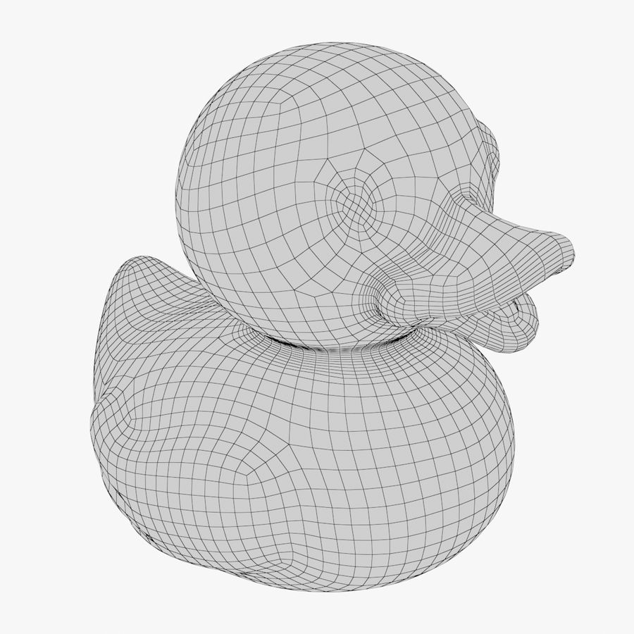 Rubber Duck 02 1 royalty-free 3d model - Preview no. 12