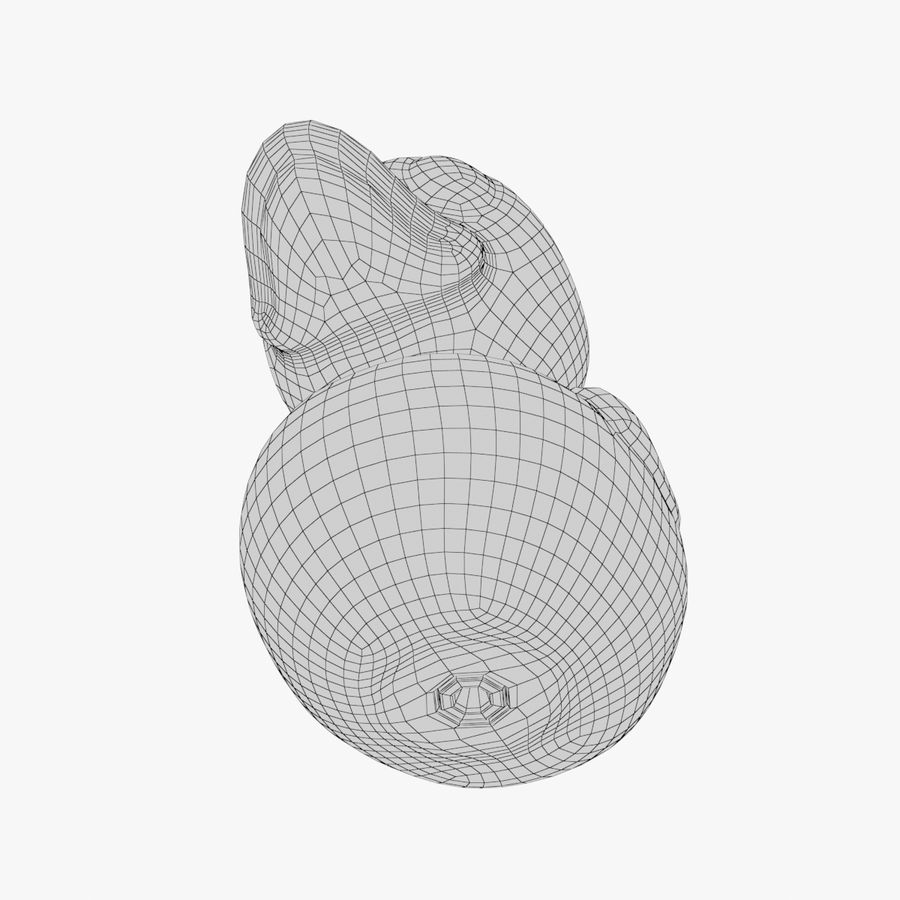 Rubber Duck 03 2 royalty-free 3d model - Preview no. 13