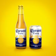 Paquete de cerveza Corona modelo 3d
