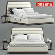 Gilda yatak, Besana 3d model