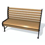 通常板凳E 3d model