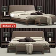 Besana Lavinia yatağı 3d model