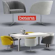 Besana soul-thea table-table 3d model