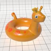 Aufblasbarer Ring 3d model