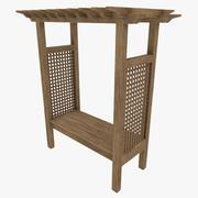 Bench Garden 3d model