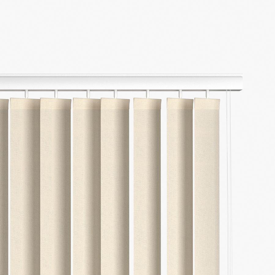 Persianas verticales royalty-free modelo 3d - Preview no. 2