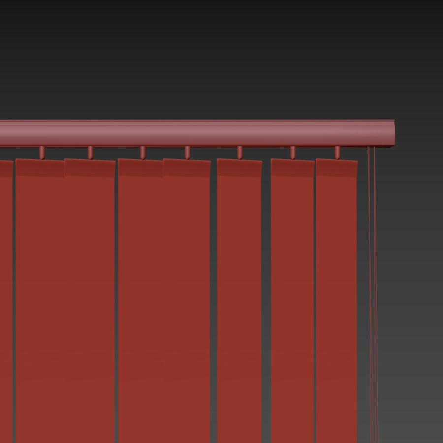 Verticale jaloezieën royalty-free 3d model - Preview no. 8