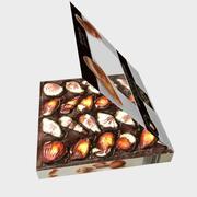 Бельгийский шоколад с низким содержанием поли 3d model