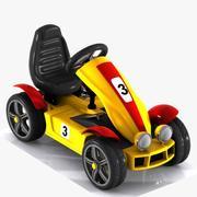 Toon Racing Car modelo 3d