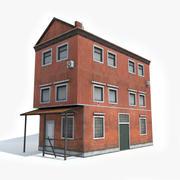 Apartment House 4 3d model