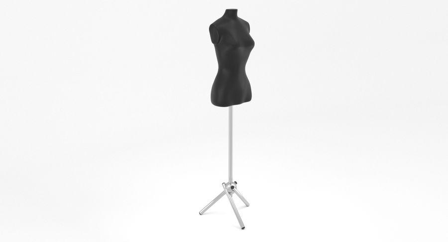 Kadın manken royalty-free 3d model - Preview no. 3