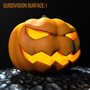 Halloween pumpa 3d model