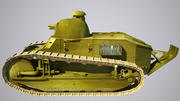 old_army_tank 3d model