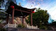 pavilhão chinês 3d model