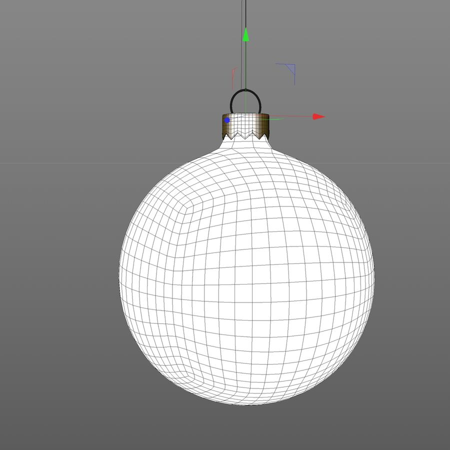 Christmas toy royalty-free 3d model - Preview no. 7