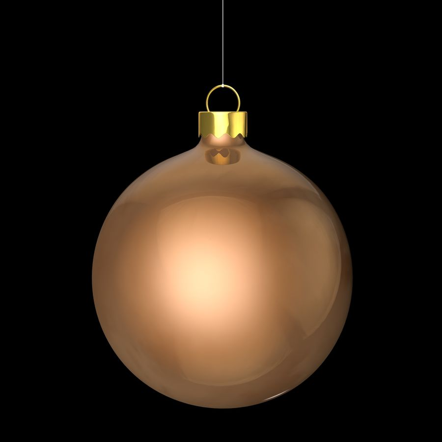 Christmas toy royalty-free 3d model - Preview no. 4