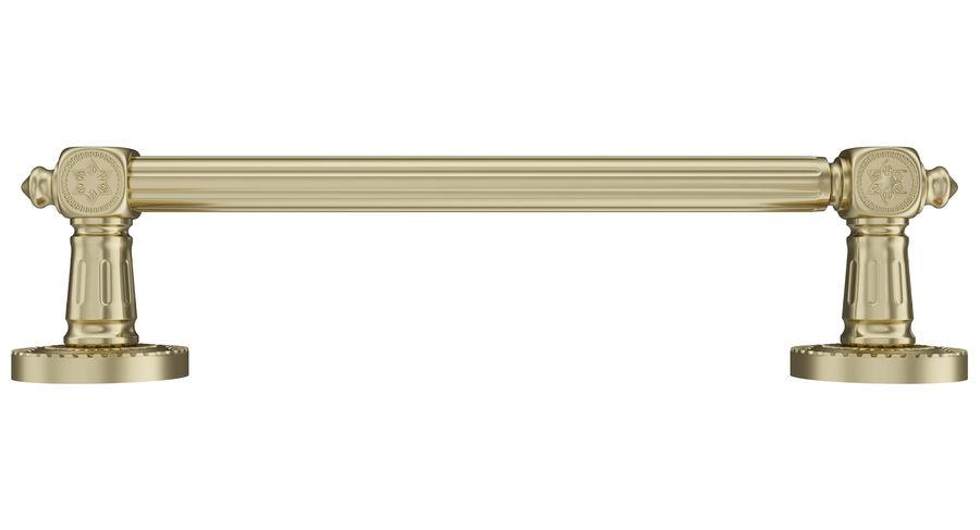 Classic Door Handle 001 royalty-free 3d model - Preview no. 2