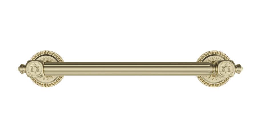 Classic Door Handle 001 royalty-free 3d model - Preview no. 4