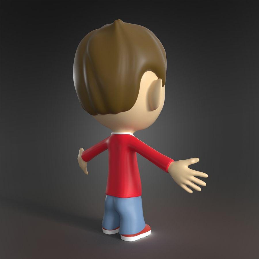 Personaje animado royalty-free modelo 3d - Preview no. 5