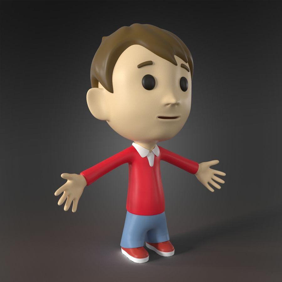 Personaje animado royalty-free modelo 3d - Preview no. 1