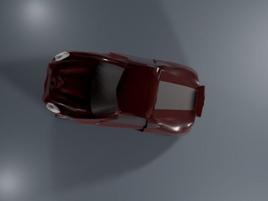 Samochód sportowy royalty-free 3d model - Preview no. 4