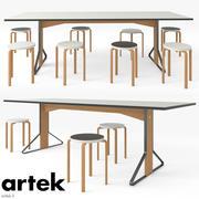 Artek KAARI-TABELL 3d model