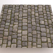 Cobblestone Pavers 3d model