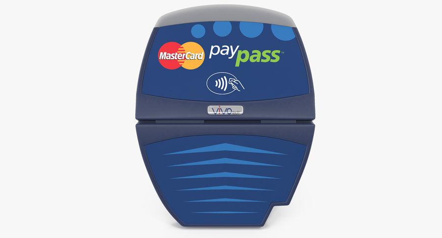 Leitor de cartão de crédito sem contato ViVOtech ViVOpay 4800 royalty-free 3d model - Preview no. 2