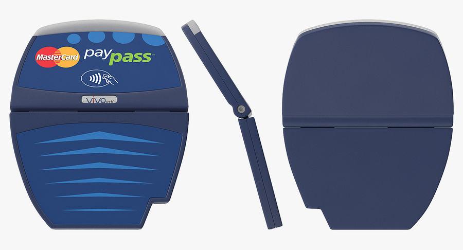 Leitor de cartão de crédito sem contato ViVOtech ViVOpay 4800 royalty-free 3d model - Preview no. 3