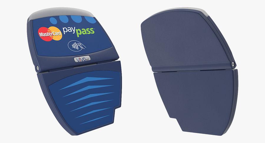 Leitor de cartão de crédito sem contato ViVOtech ViVOpay 4800 royalty-free 3d model - Preview no. 4