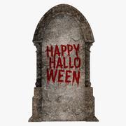 ハロウィーンの墓石 3d model