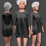 Sweater Dress 3d model